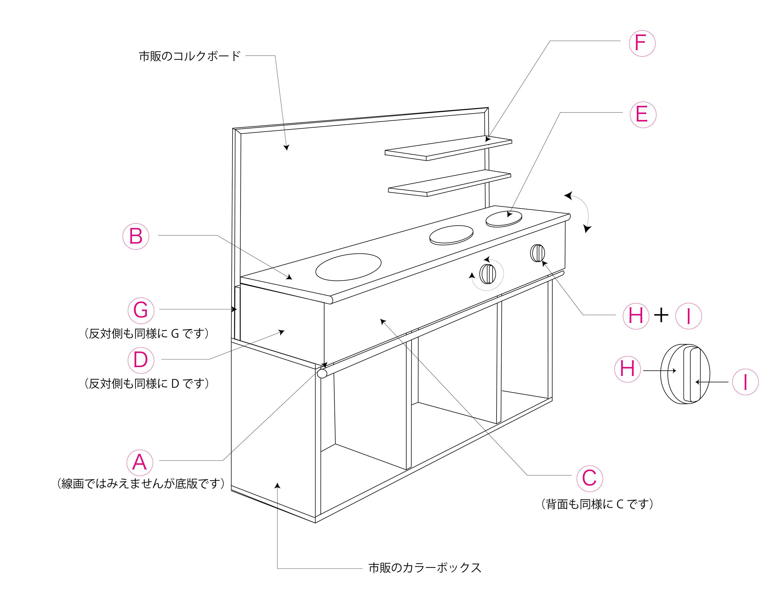 キッチン2 : 【DIY】手作り ...