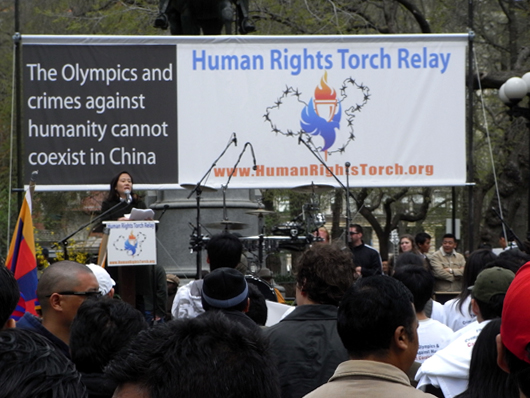 人権聖火リレー(Human Rights Torch Relay)_b0007805_19194034.jpg