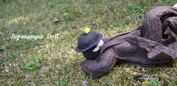 中原中也の人形をつくってみました♪_e0122219_15185310.jpg