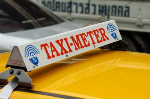 バンコクのタクシー標灯_b0131470_1724274.jpg