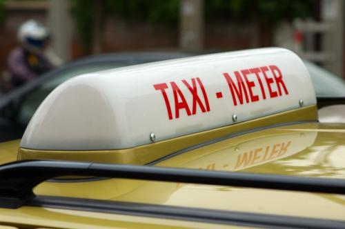 バンコクのタクシー標灯_b0131470_17244593.jpg