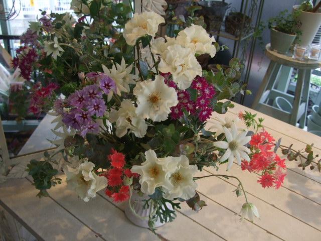 オークリーフ花の教室(市川さんのバラを使って)_f0049672_134468.jpg