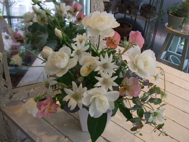 オークリーフ花の教室(市川さんのバラを使って)_f0049672_13461717.jpg