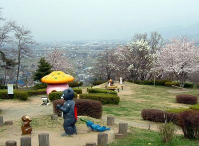 茶臼山公園の桜_d0066822_6573159.jpg