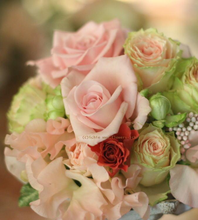 卓上に置く花 ゲストテーブル装花_a0042928_21433861.jpg