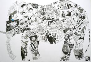 アタリマエ〜神崎勝典イラスト展レポート〜あの頃の空と不思議な像_a0017350_2328271.jpg