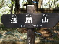 浅間山+霞桜  防衛費で花粉対策を!_e0126063_21315737.jpg