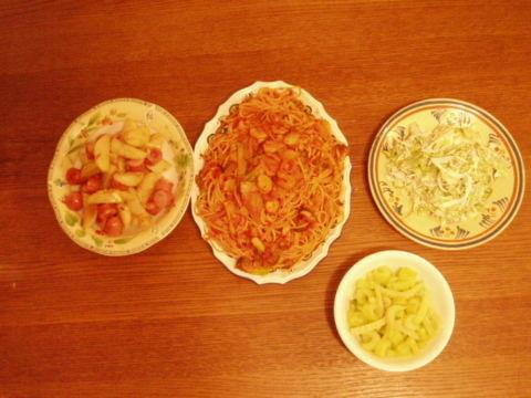晩御飯です_f0032911_22185238.jpg