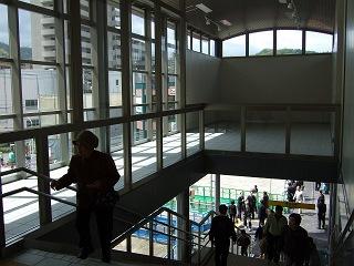 速報・JR矢野駅新駅舎・駅ビルオープン①JR矢野駅駅舎を歩く_b0095061_15214652.jpg
