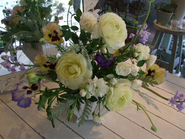 オークリーフ花の教室(ティータイムに)_f0049672_13575342.jpg
