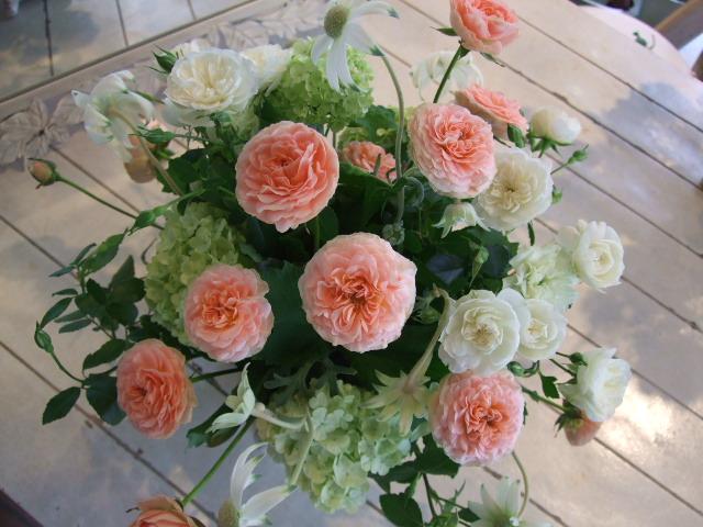 オークリーフ花の教室(ティータイムに)_f0049672_1433343.jpg