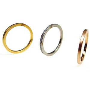 K18 Yellow & White & Pink gold Rings_e0131432_22434633.jpg