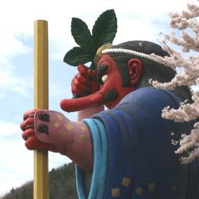 天狗の花見_f0014205_18125635.jpg