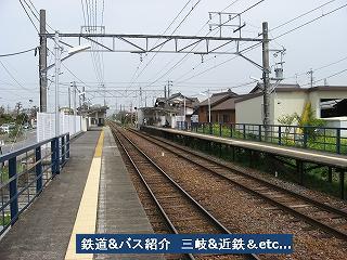 VOL,771    『駅・名古屋鉄道尾西線 上丸渕駅』_e0040714_2129584.jpg
