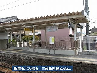 VOL,771    『駅・名古屋鉄道尾西線 上丸渕駅』_e0040714_21363564.jpg