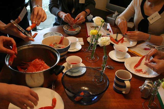 料理教室―スペイン料理 チャングロ、白身魚のサルサヴェルデなど_f0141419_615626.jpg