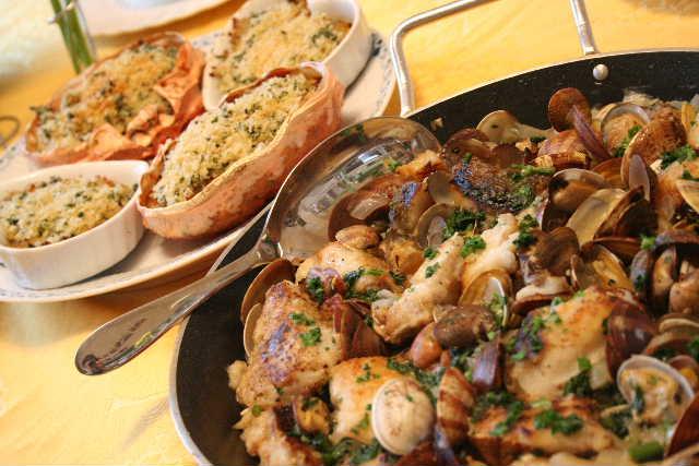 料理教室―スペイン料理 チャングロ、白身魚のサルサヴェルデなど_f0141419_6221510.jpg