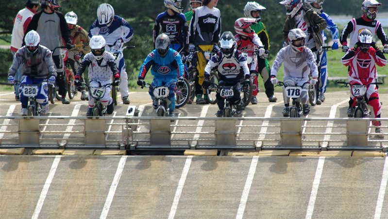 2008JBMXF全日本BMX選手権大会INひたちVOL2エリートクラス予選第3ヒート~準決勝_b0065730_0534450.jpg
