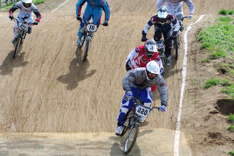 2008JBMXF全日本BMX選手権大会INひたちVOL2エリートクラス予選第3ヒート~準決勝_b0065730_0552073.jpg