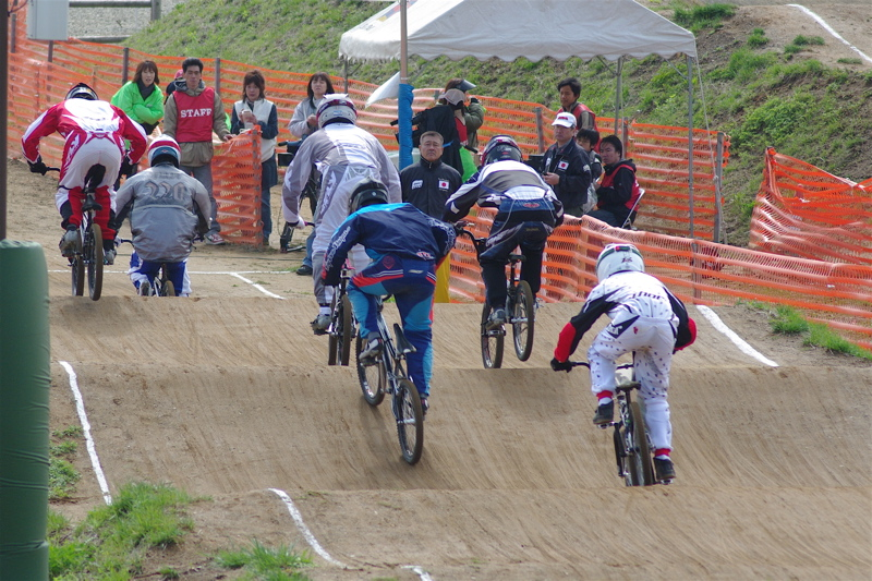 2008JBMXF全日本BMX選手権大会INひたちVOL2エリートクラス予選第3ヒート~準決勝_b0065730_0565631.jpg