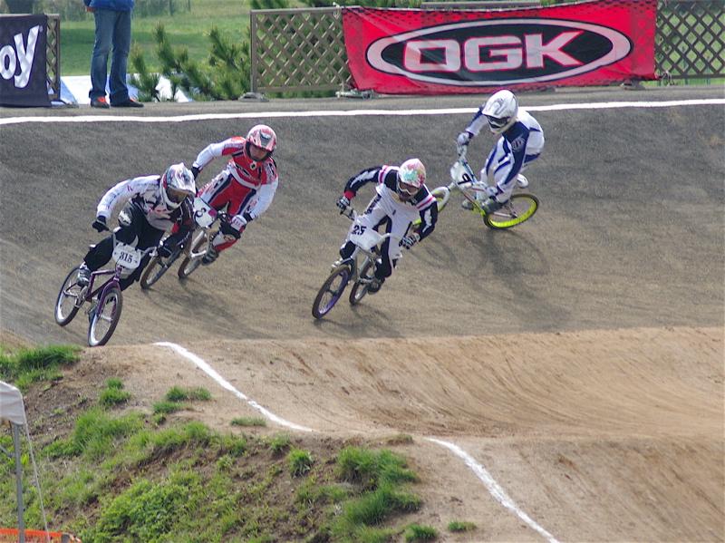 2008JBMXF全日本BMX選手権大会INひたちVOL2エリートクラス予選第3ヒート~準決勝_b0065730_101461.jpg