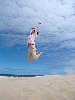エコ・ツアー(中編) 大砂丘で砂すべり_c0053520_12261269.jpg