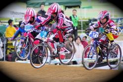 2008JBMXF全日本BMX選手権大会INひたちVOL10ガールズ5〜12才クラス決勝_b0065730_23552411.jpg