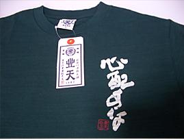 豊天商店 「心配すななんとかなる」Tシャツ _c0141944_0302798.jpg