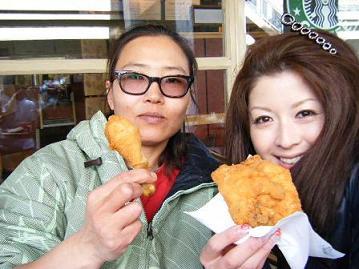 KFC★&買い物ぉ~_c0151965_1310846.jpg