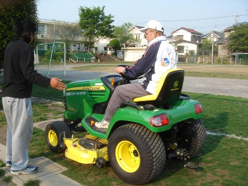 緑の芝生はみんなの友達_f0059673_22133236.jpg