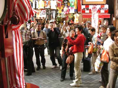 大阪名物くいだおれ前へ行ってみた♪_d0136282_1261244.jpg