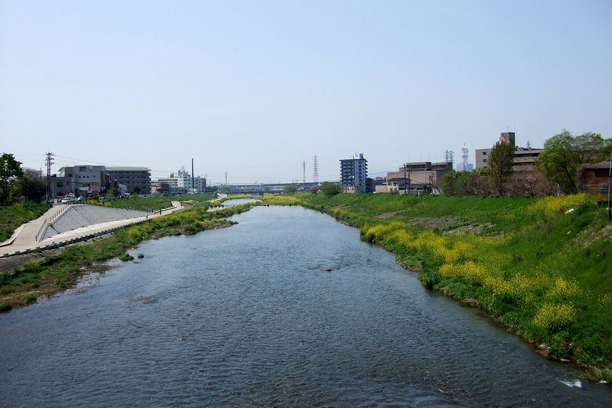 「京都・勧進橋から見た風景」_d0133024_2153753.jpg