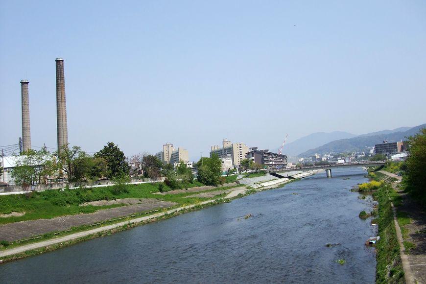 「京都・勧進橋から見た風景」_d0133024_216263.jpg