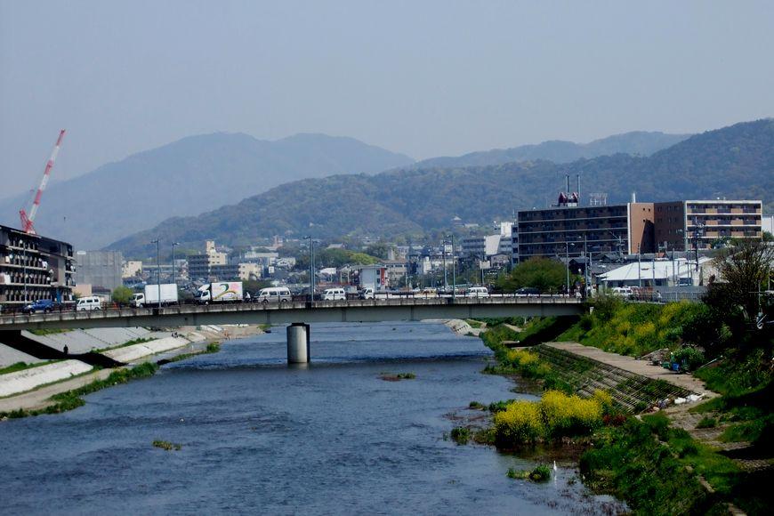 「京都・勧進橋から見た風景」_d0133024_2164234.jpg