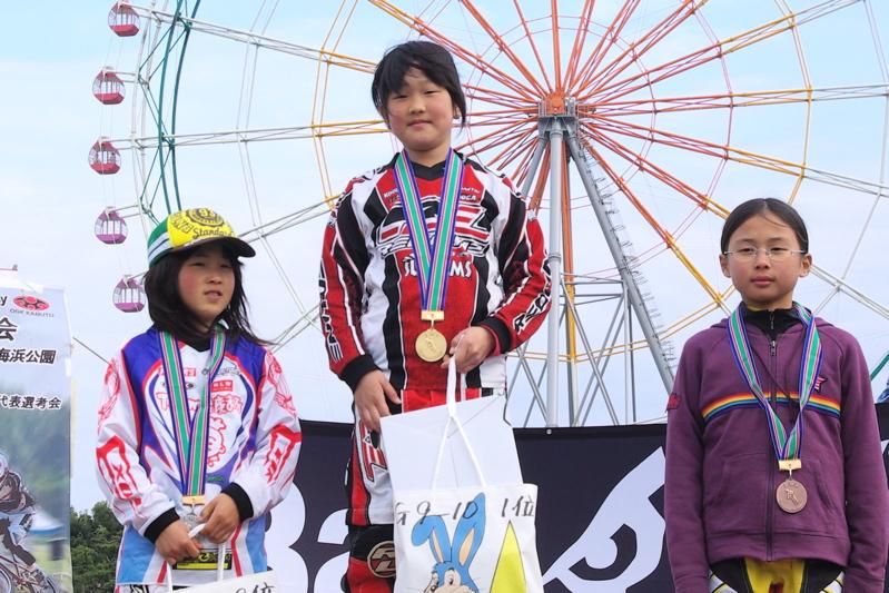 2008JBMXF全日本BMX選手権大会INひたちVOL10ガールズ5〜12才クラス決勝_b0065730_0123870.jpg