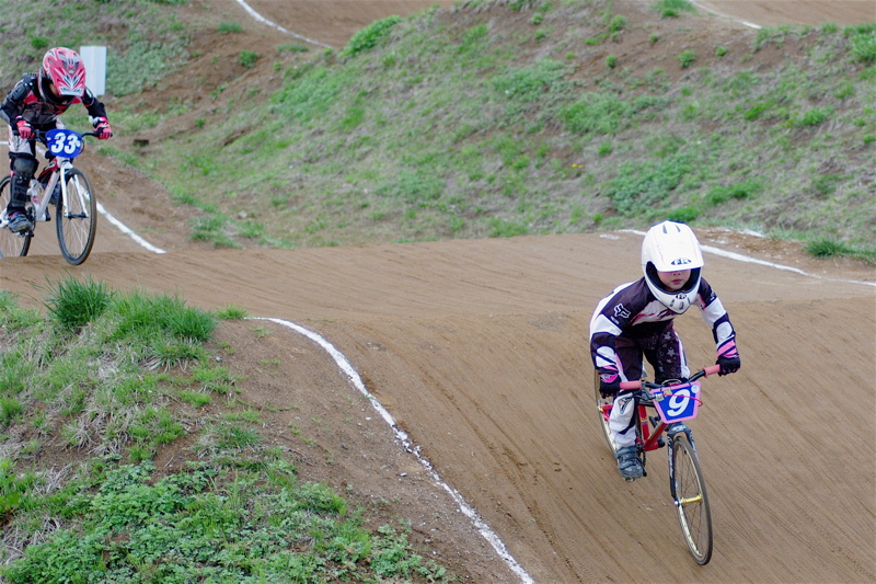 2008JBMXF全日本BMX選手権大会INひたちVOL10ガールズ5〜12才クラス決勝_b0065730_01351.jpg