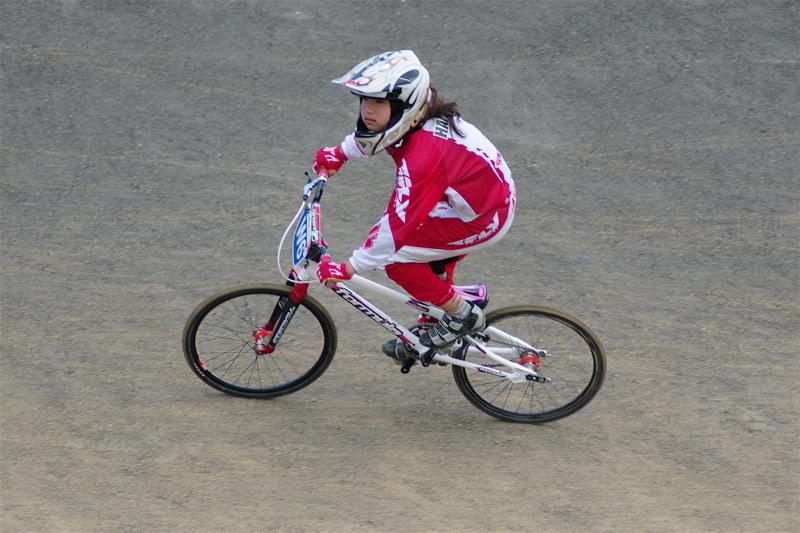 2008JBMXF全日本BMX選手権大会INひたちVOL10ガールズ5〜12才クラス決勝_b0065730_0173334.jpg