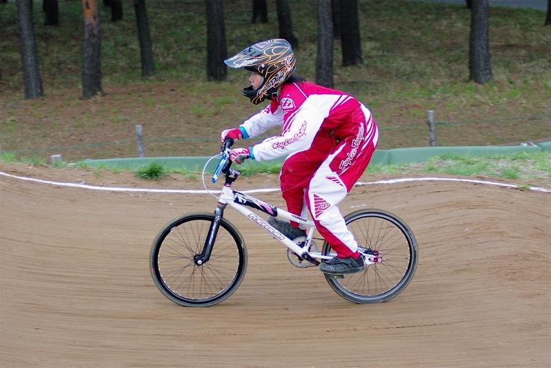 2008JBMXF全日本BMX選手権大会INひたちVOL10ガールズ5〜12才クラス決勝_b0065730_0181582.jpg