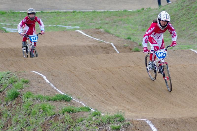 2008JBMXF全日本BMX選手権大会INひたちVOL10ガールズ5〜12才クラス決勝_b0065730_0194169.jpg