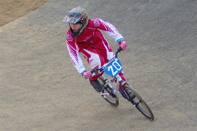 2008JBMXF全日本BMX選手権大会INひたちVOL10ガールズ5〜12才クラス決勝_b0065730_0201797.jpg