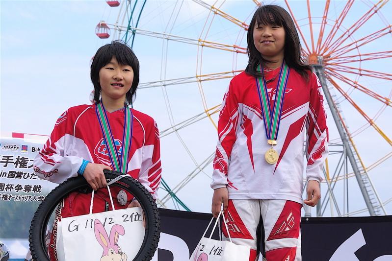 2008JBMXF全日本BMX選手権大会INひたちVOL10ガールズ5〜12才クラス決勝_b0065730_020344.jpg