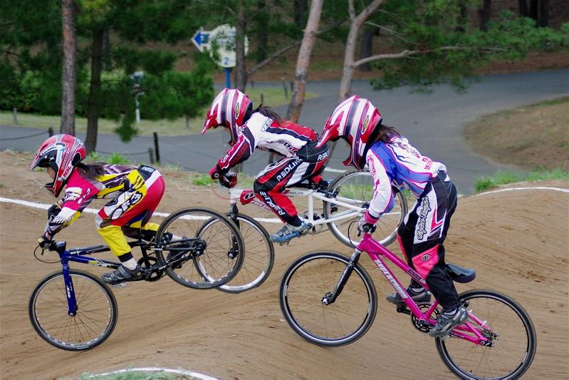 2008JBMXF全日本BMX選手権大会INひたちVOL10ガールズ5〜12才クラス決勝_b0065730_065023.jpg