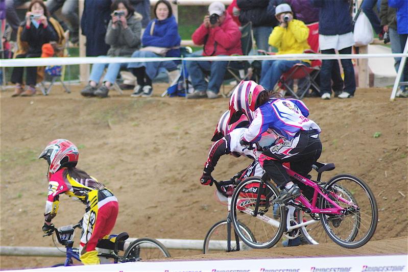 2008JBMXF全日本BMX選手権大会INひたちVOL10ガールズ5〜12才クラス決勝_b0065730_07463.jpg