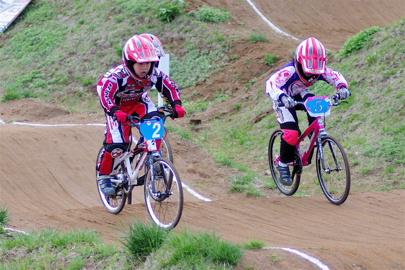 2008JBMXF全日本BMX選手権大会INひたちVOL10ガールズ5〜12才クラス決勝_b0065730_094342.jpg