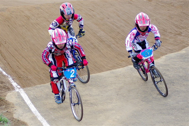 2008JBMXF全日本BMX選手権大会INひたちVOL10ガールズ5〜12才クラス決勝_b0065730_095864.jpg