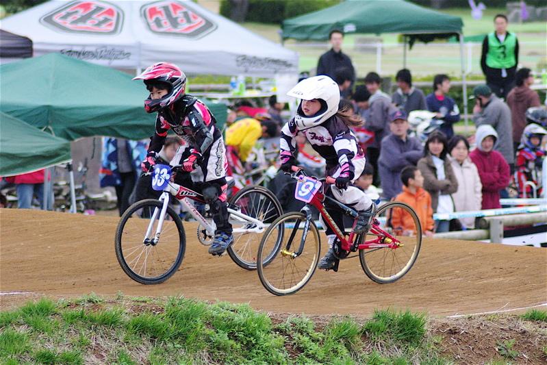 2008JBMXF全日本BMX選手権大会INひたちVOL10ガールズ5〜12才クラス決勝_b0065730_23595117.jpg