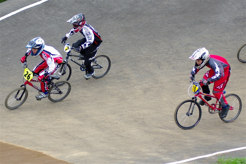 2008JBMXF全日本BMX選手権大会INひたちVOL13ボーイズ13&14、15&16クラス決勝_b0065730_12575748.jpg