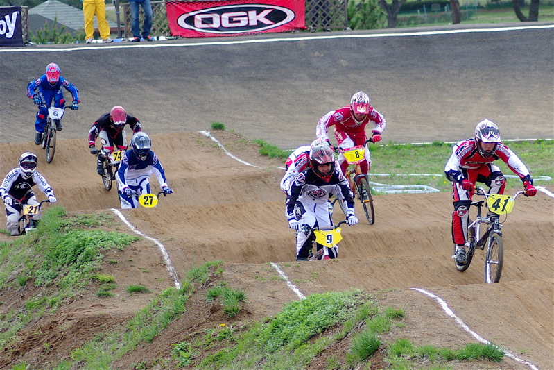 2008JBMXF全日本BMX選手権大会INひたちVOL13ボーイズ13&14、15&16クラス決勝_b0065730_13115815.jpg