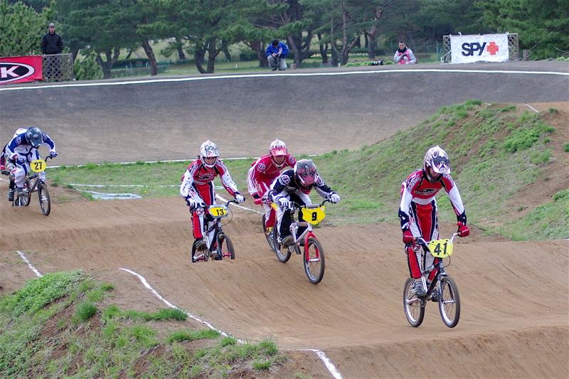 2008JBMXF全日本BMX選手権大会INひたちVOL13ボーイズ13&14、15&16クラス決勝_b0065730_13121161.jpg