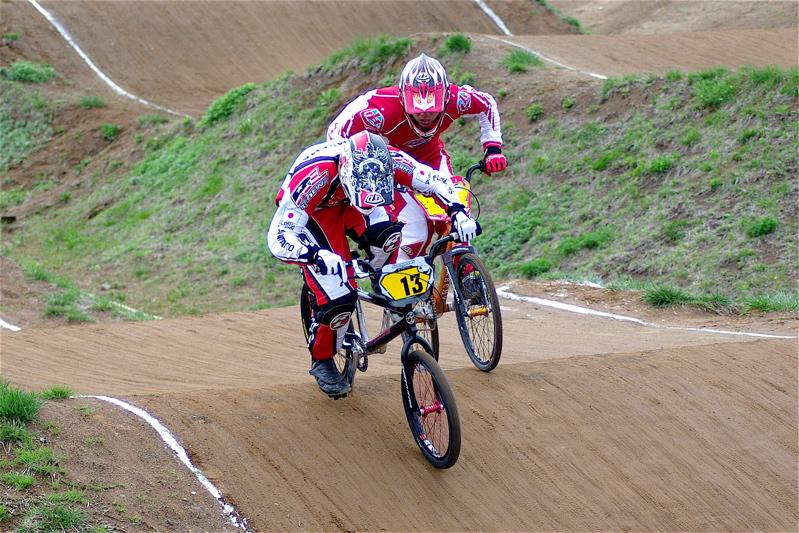 2008JBMXF全日本BMX選手権大会INひたちVOL13ボーイズ13&14、15&16クラス決勝_b0065730_13125561.jpg